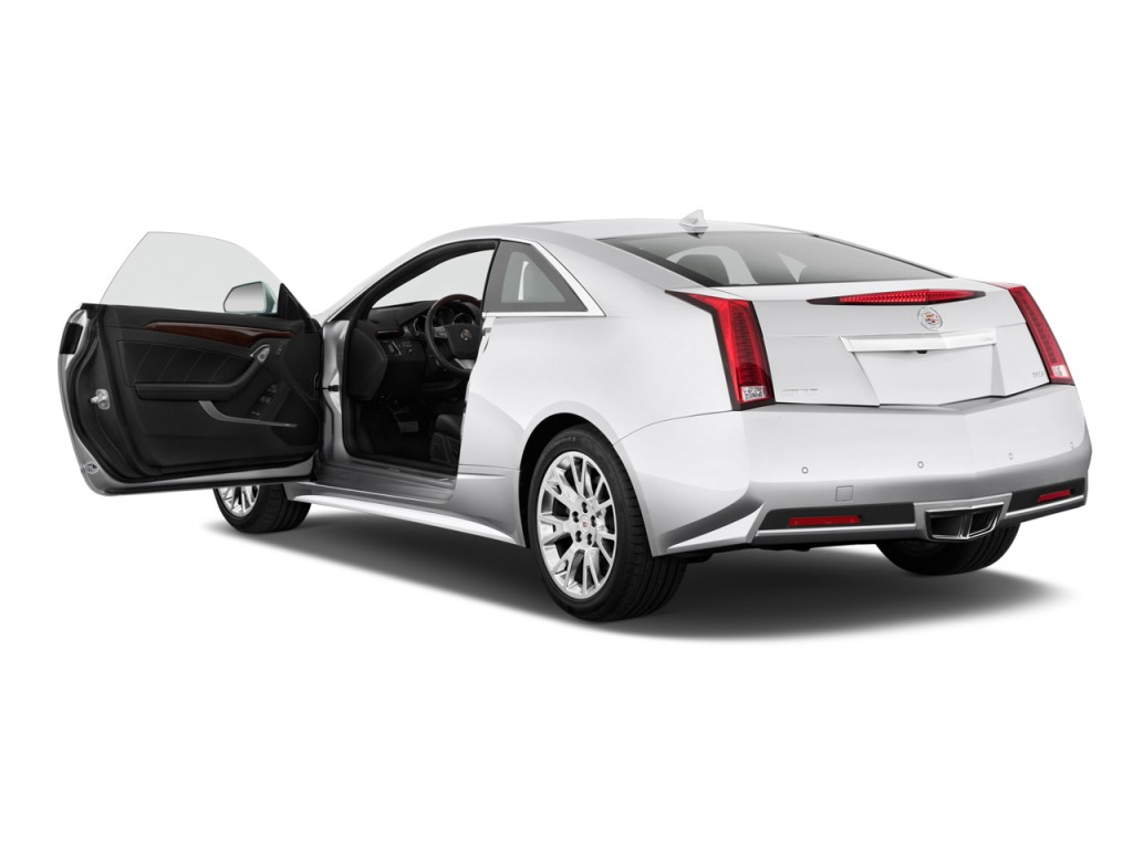 Image: 2011 Cadillac CTS Coupe 2-door Coupe Premium RWD Open Doors