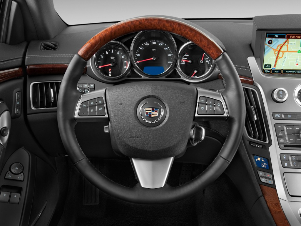 Xts Vs Cts >> Image: 2011 Cadillac CTS Coupe 2-door Coupe Premium RWD Steering Wheel, size: 1024 x 768, type ...