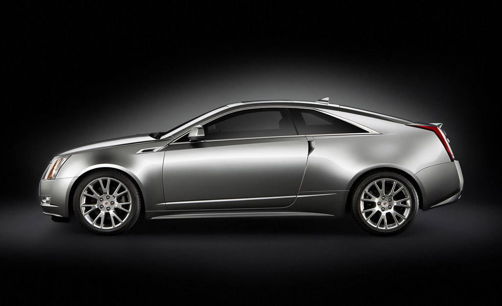 Unveiled: 2011 Cadillac CTS Coupe
