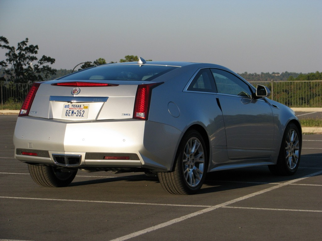 Image 2011 Cadillac Cts Coupe Size 1024 X 768 Type