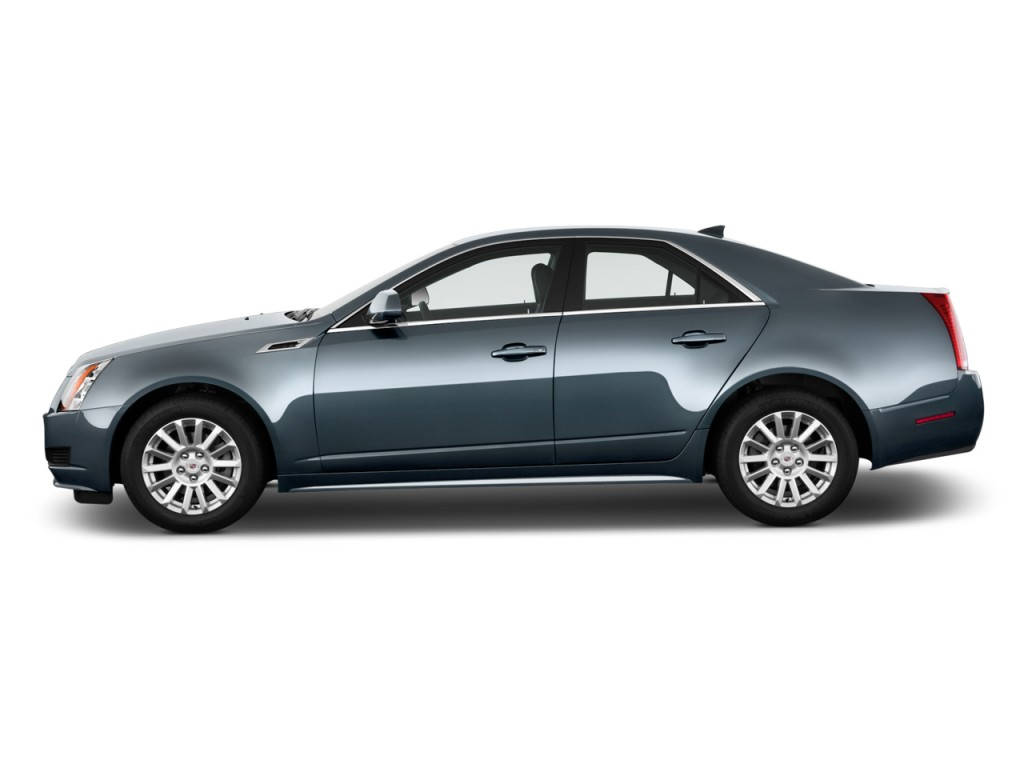 Image: 2011 Cadillac CTS Sedan 4-door Sedan 3.0L RWD Side ...