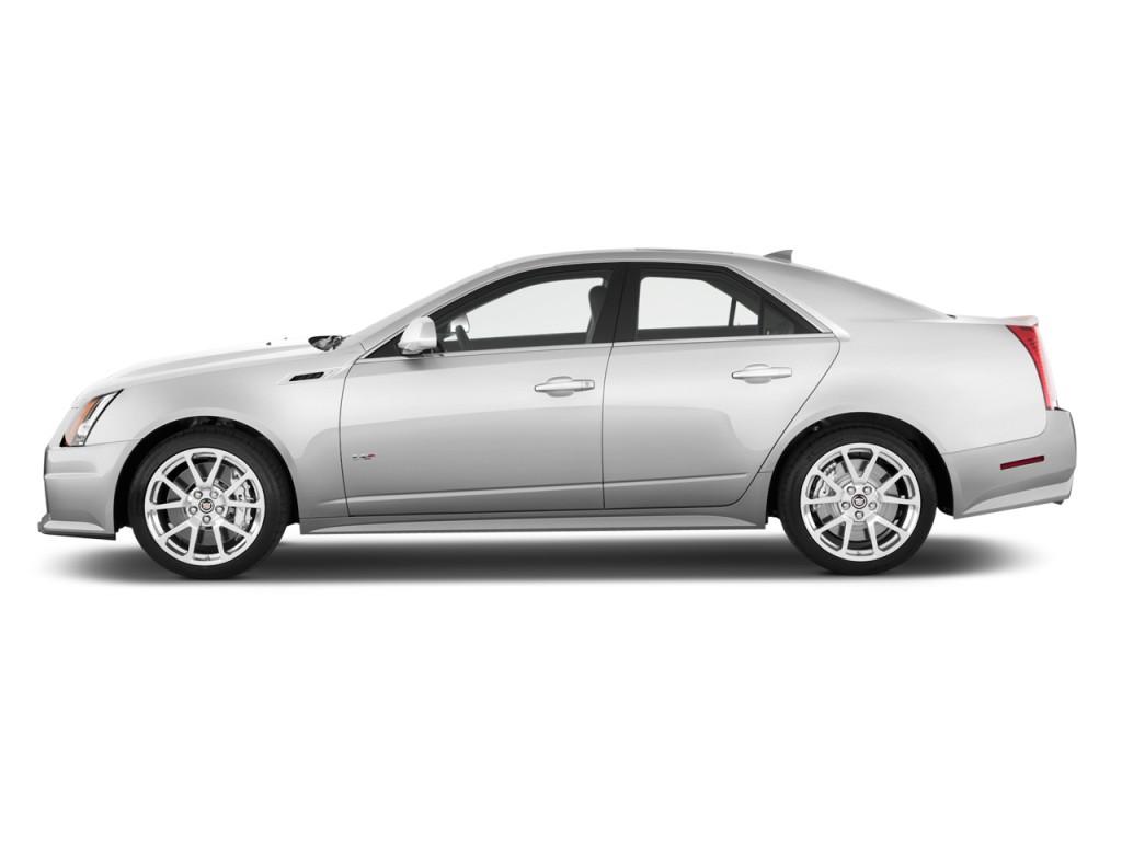 2011 Cadillac CTS-V Sedan 4-door Sedan Side Exterior View