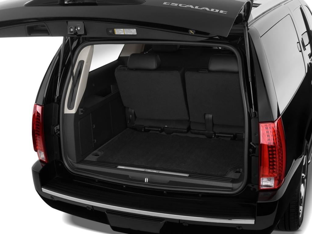 Image: 2011 Cadillac Escalade ESV AWD 4-door Base Trunk ...