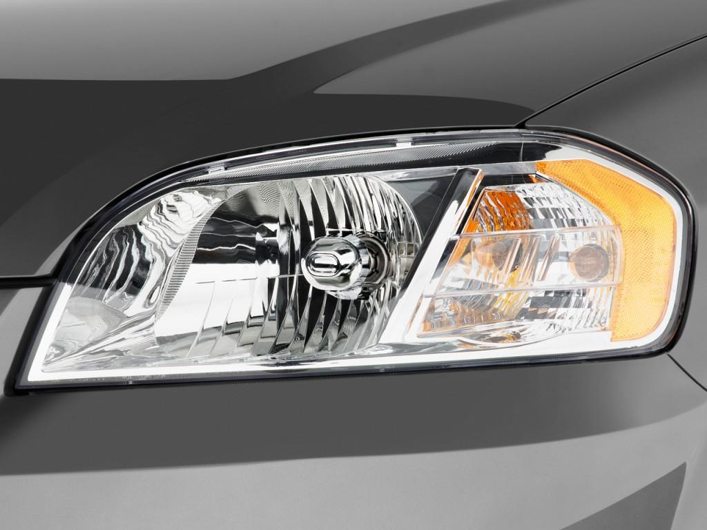 Image: 2011 Chevrolet Aveo 4-door Sedan LS Headlight, size ...