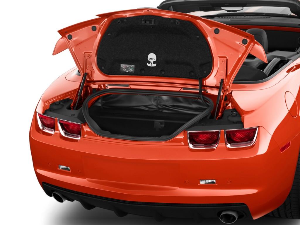 image 2011 chevrolet camaro 2 door convertible 1ss trunk. Black Bedroom Furniture Sets. Home Design Ideas