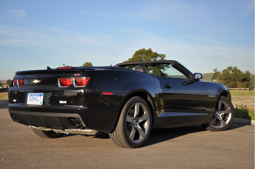 Image: 2011 Chevrolet Camaro SS Convertible, size: 1024 x ...