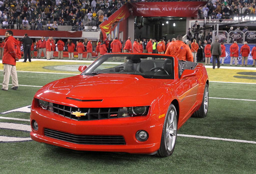Super Bowl MVP Aaron Rodgers Wins 2011 Chevrolet Camaro ...