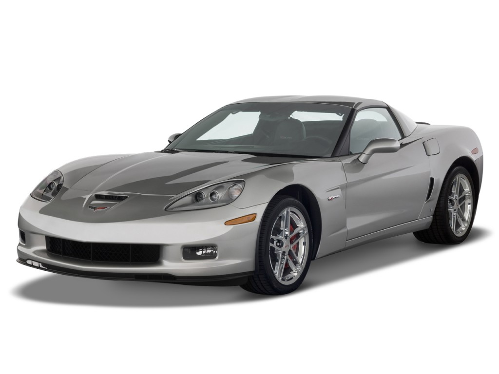 2011 Chevrolet Corvette 2-door Coupe Z06 w/2LZ Angular Front Exterior View