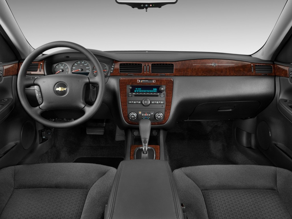Impala 2009 chevrolet impala review : Image: 2011 Chevrolet Impala 4-door Sedan LS Retail Dashboard ...