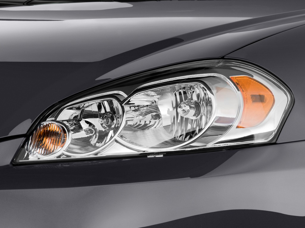 Image: 2011 Chevrolet Impala 4-door Sedan LS Retail Headlight ...