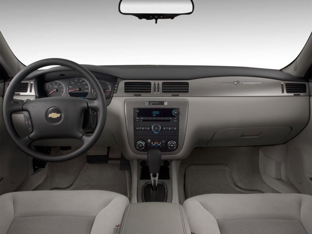 2011 chevrolet impala 4 door sedan lt retail dashboard