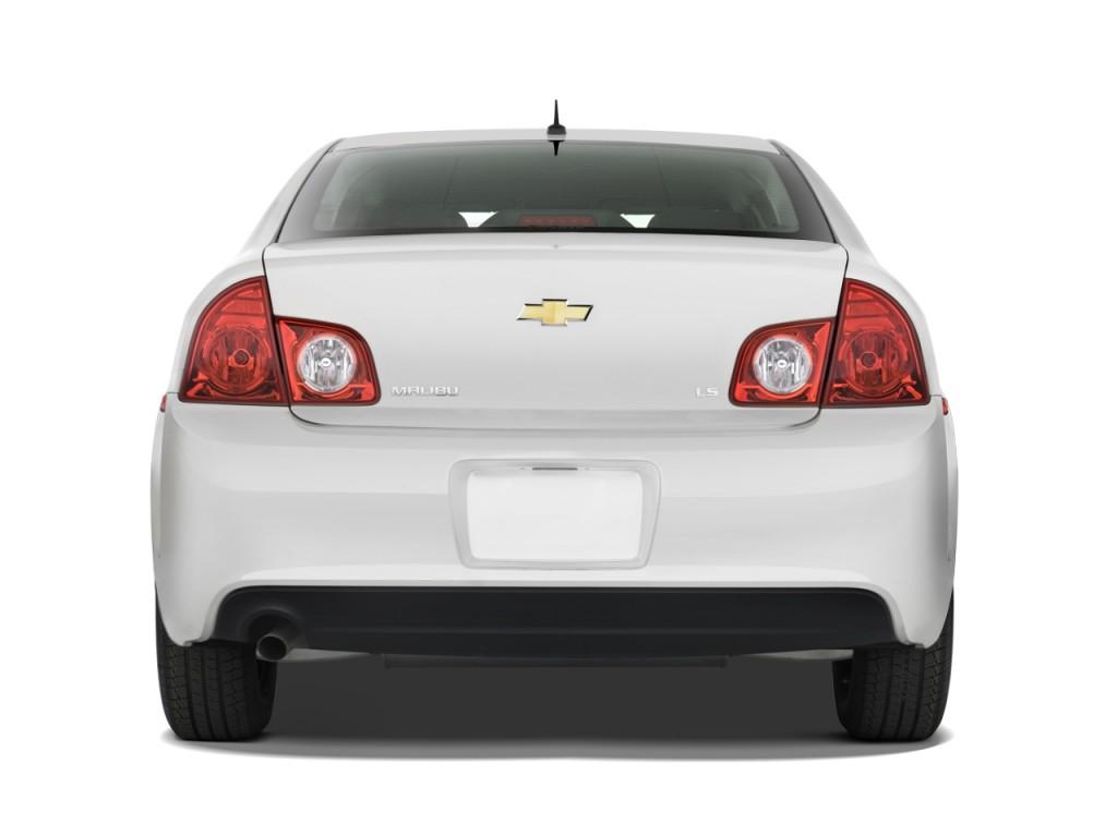 Image: 2011 Chevrolet Malibu 4-door Sedan LS w/1LS Rear Exterior View, size: 1024 x 768, type ...