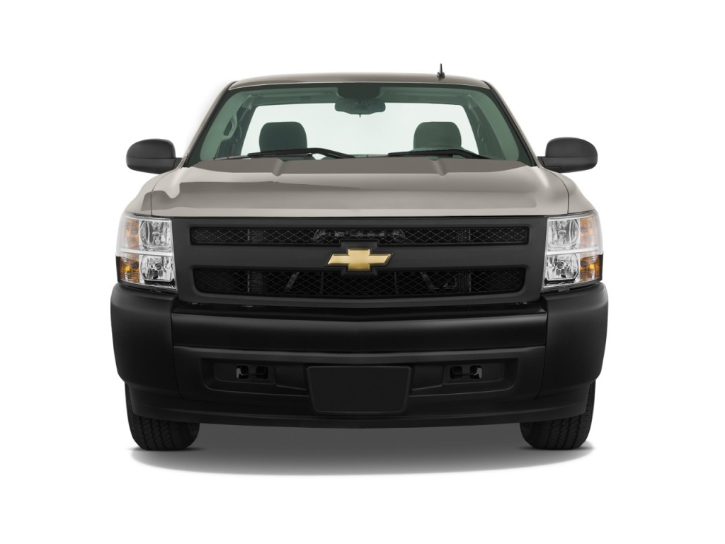 image 2011 chevrolet silverado 1500 2wd reg cab 119 0 work truck front exterior view size. Black Bedroom Furniture Sets. Home Design Ideas