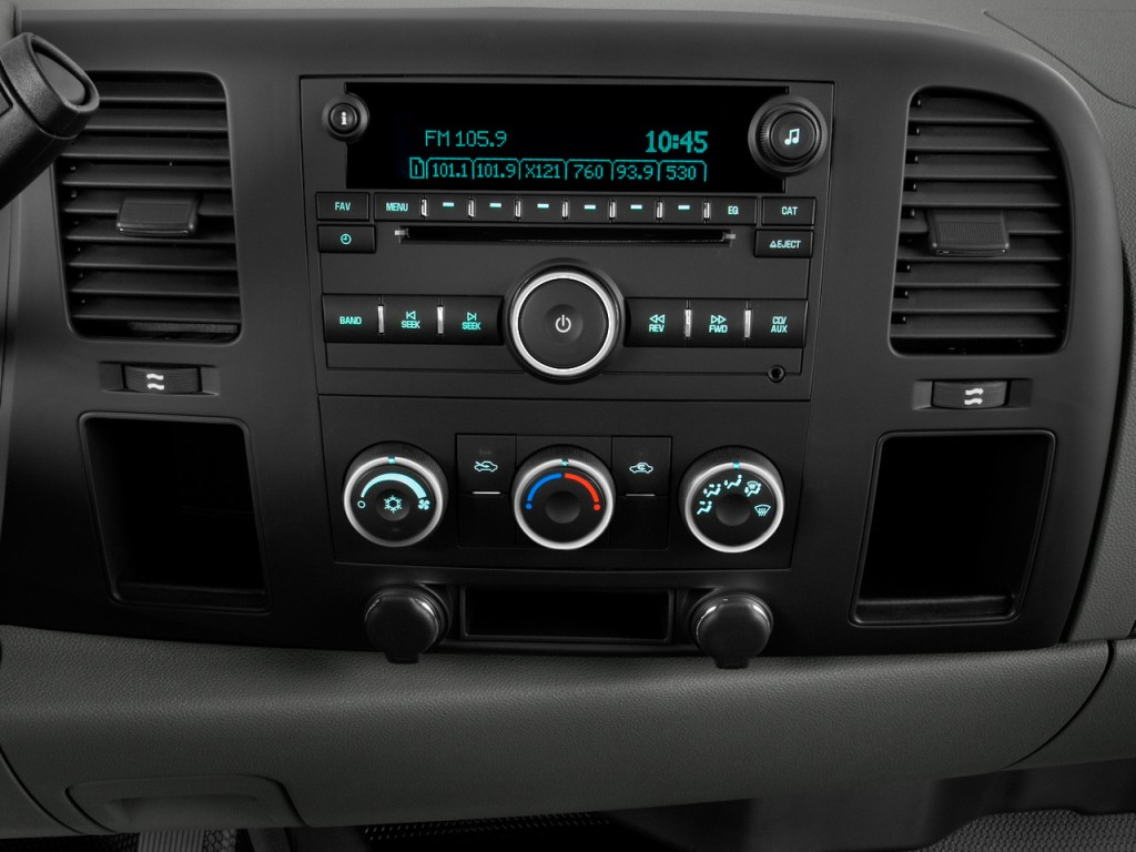 "Image: 2011 Chevrolet Silverado 1500 2WD Reg Cab 119.0"" Work Truck Instrument Panel, size: 1024 ..."
