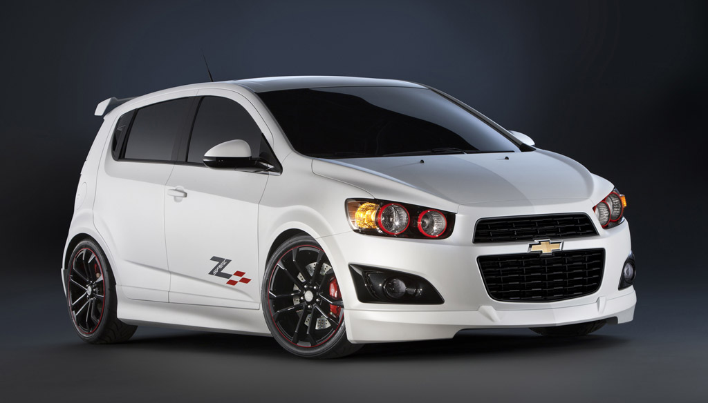 Chevrolet Bringing Customized Cruze And Sonic Lineup To SEMA
