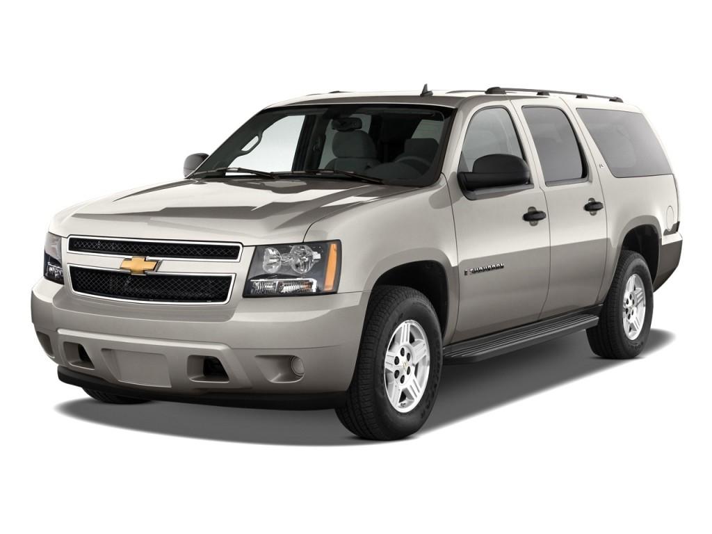 2011 Chevrolet Suburban 2WD 4-door 1500 LS Angular Front Exterior View