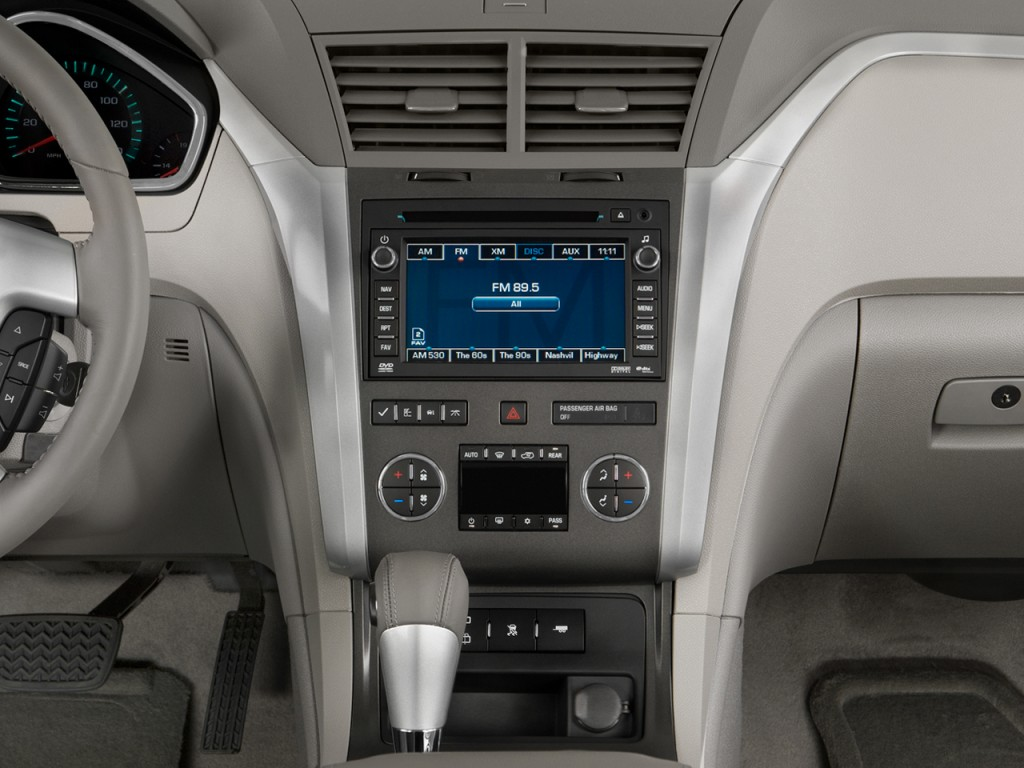 Image: 2011 Chevrolet Traverse FWD 4-door LT w/1LT Instrument Panel, size: 1024 x 768, type: gif ...