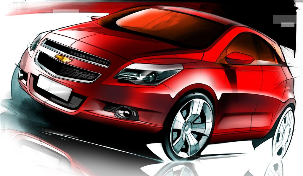 2011 Chevrolet Viva, to be sold in South America as Chevrolet Agile