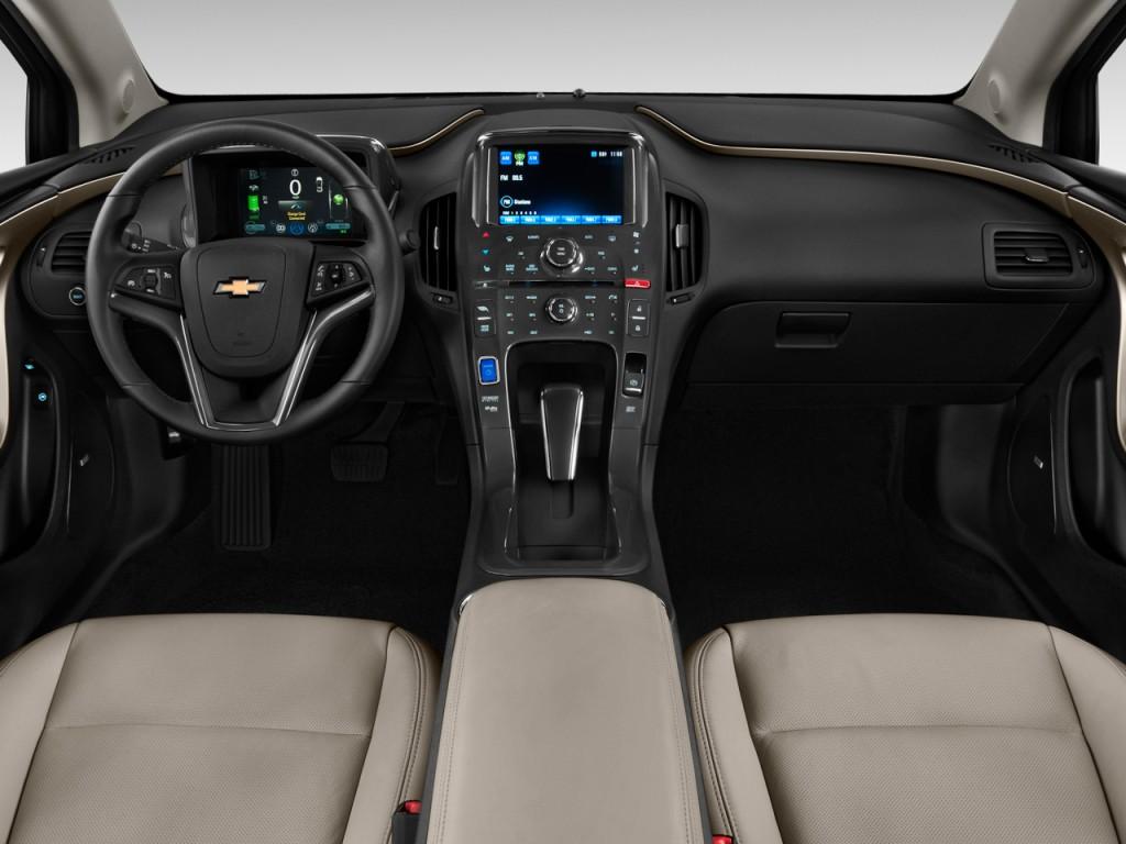 Image: 2011 Chevrolet Volt 5dr HB Dashboard, size: 1024 x ...