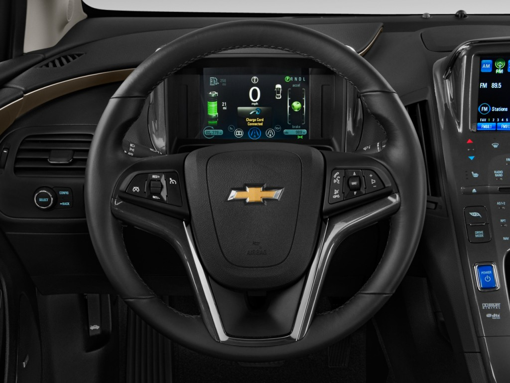 Image: 2011 Chevrolet Volt 5dr HB Steering Wheel, size: 1024 x 768, type: gif, posted on: April ...