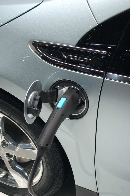 2011 Chevrolet Volt charging port