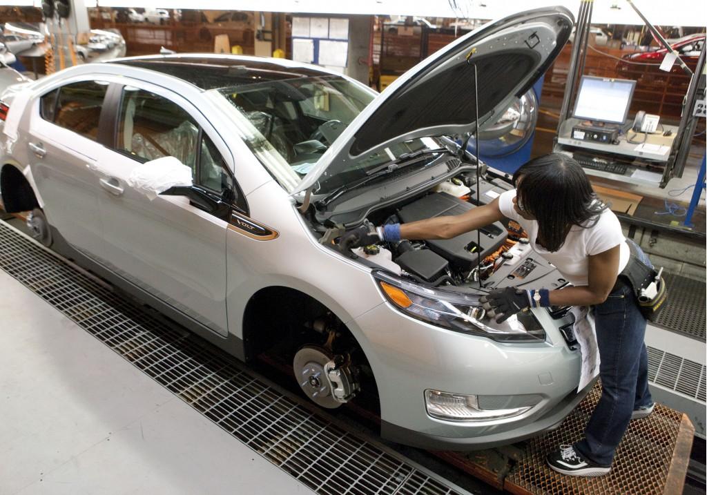 2011 Chevrolet Volt Production Line