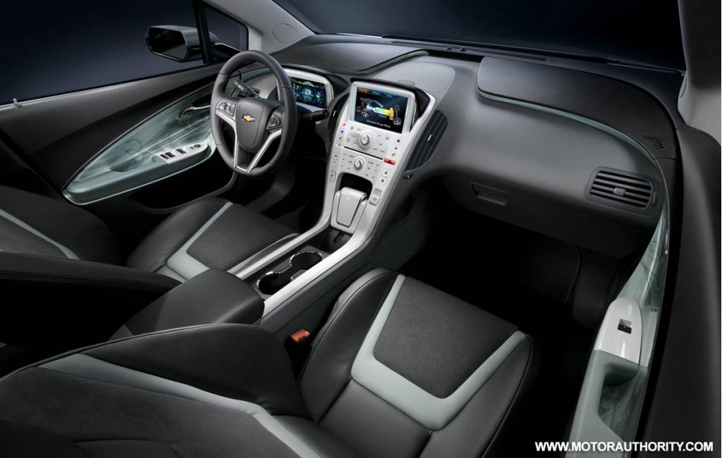 Image 2011 Chevy Volt Interior 011 Size 1024 X 650