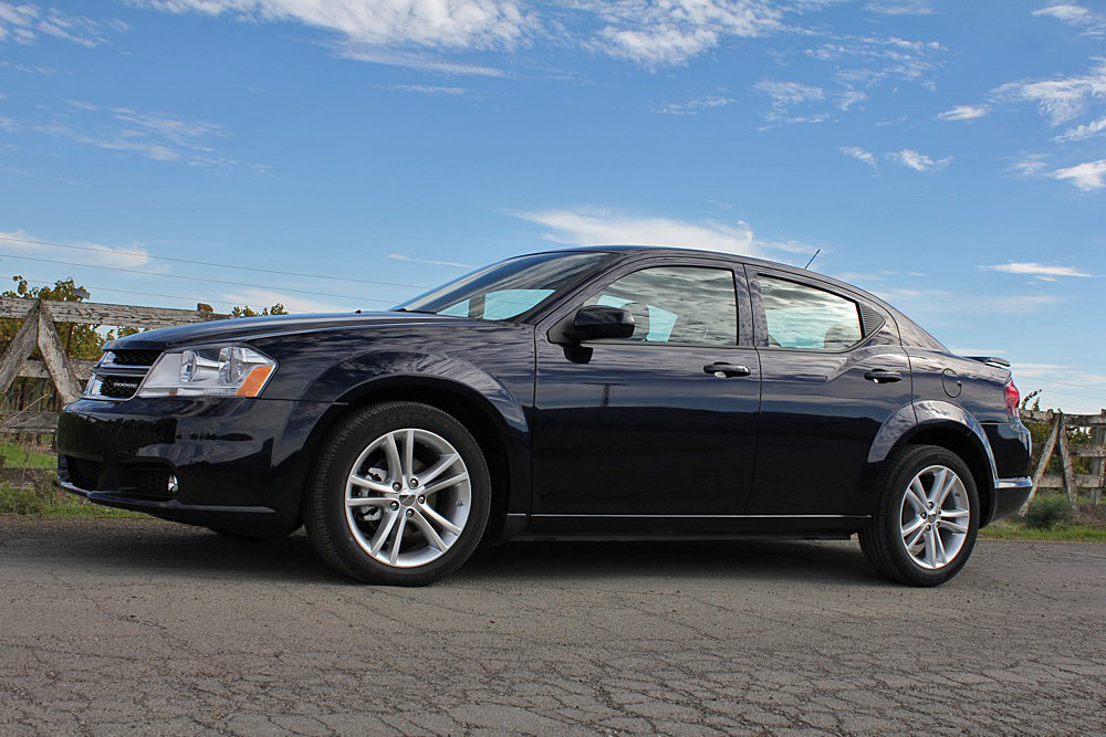 2011 Dodge Avenger: First Drive