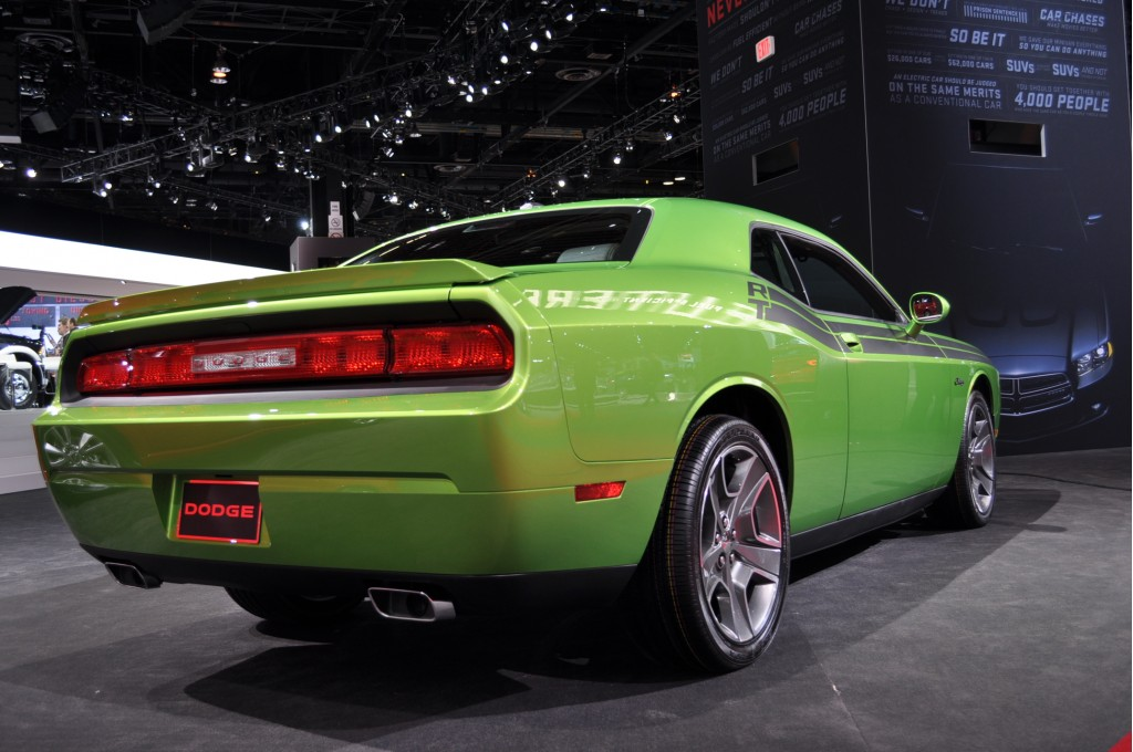 Image: 2011 Dodge Challenger R/T Green With Envy, size: 1024 x 680