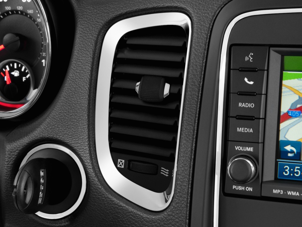 Image 2011 Dodge Durango 2wd 4 Door Crew Air Vents Size