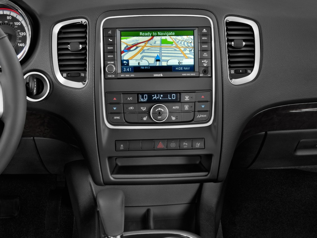 Image: 2011 Dodge Durango 2WD 4-door Crew Instrument Panel ...