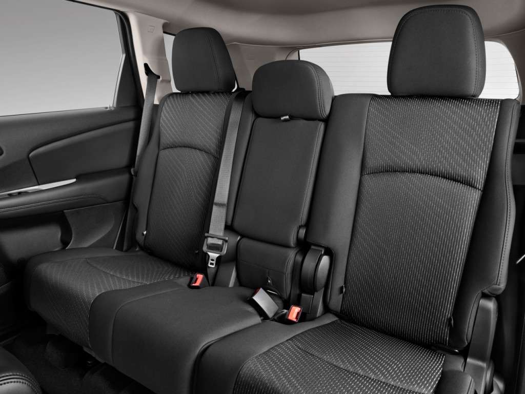 image 2011 dodge journey fwd 4 door express rear seats. Black Bedroom Furniture Sets. Home Design Ideas