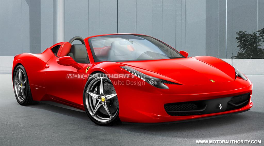 Ferrari 458 Spider Set For Frankfurt Debut Scuderia Due 2013