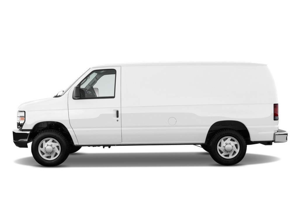2011 Ford Econoline Cargo Van E 150 Commercial Side Exterior View