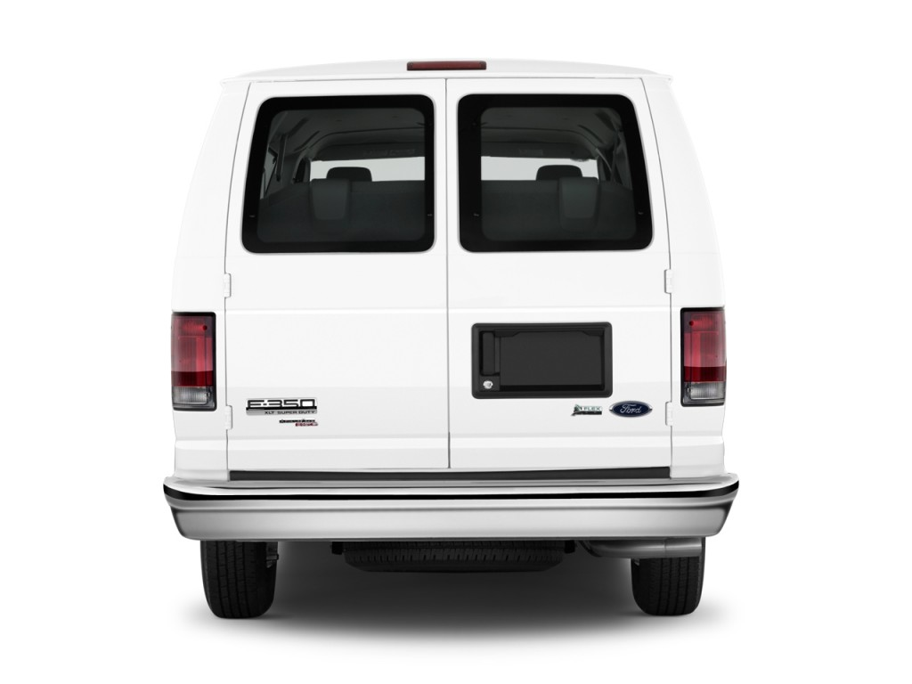 image  ford econoline wagon   super duty ext xl rear exterior view size