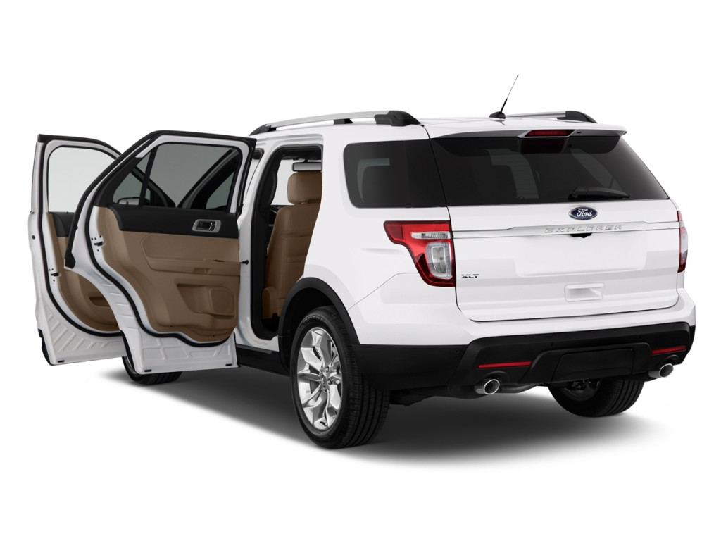 2011 Ford Explorer FWD 4-door XLT Open Doors