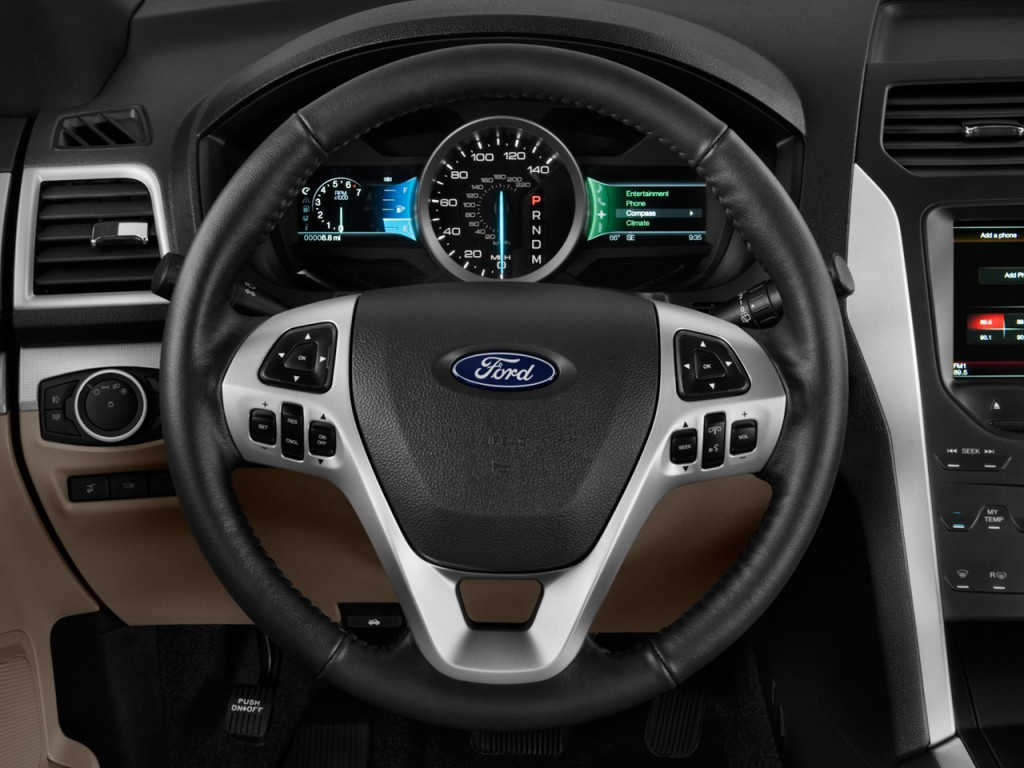 Image 2011 Ford Explorer Fwd 4 Door Xlt Steering Wheel
