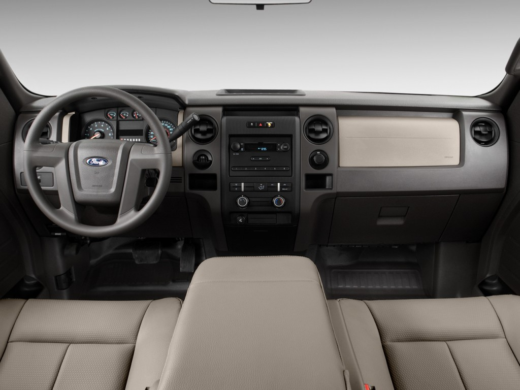 "Image: 2011 Ford F-150 2WD SuperCab 145"" XL Dashboard ..."