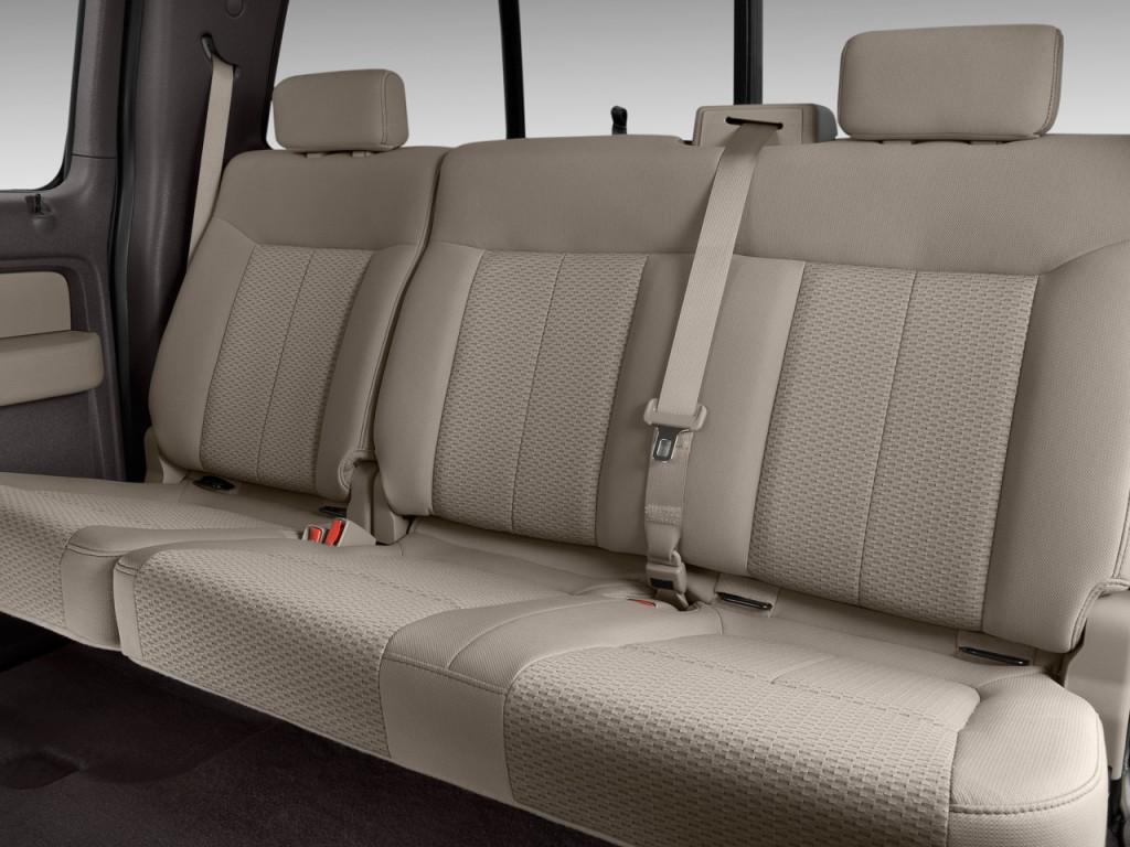 image 2011 ford f 150 2wd supercrew 145 xlt rear seats. Black Bedroom Furniture Sets. Home Design Ideas