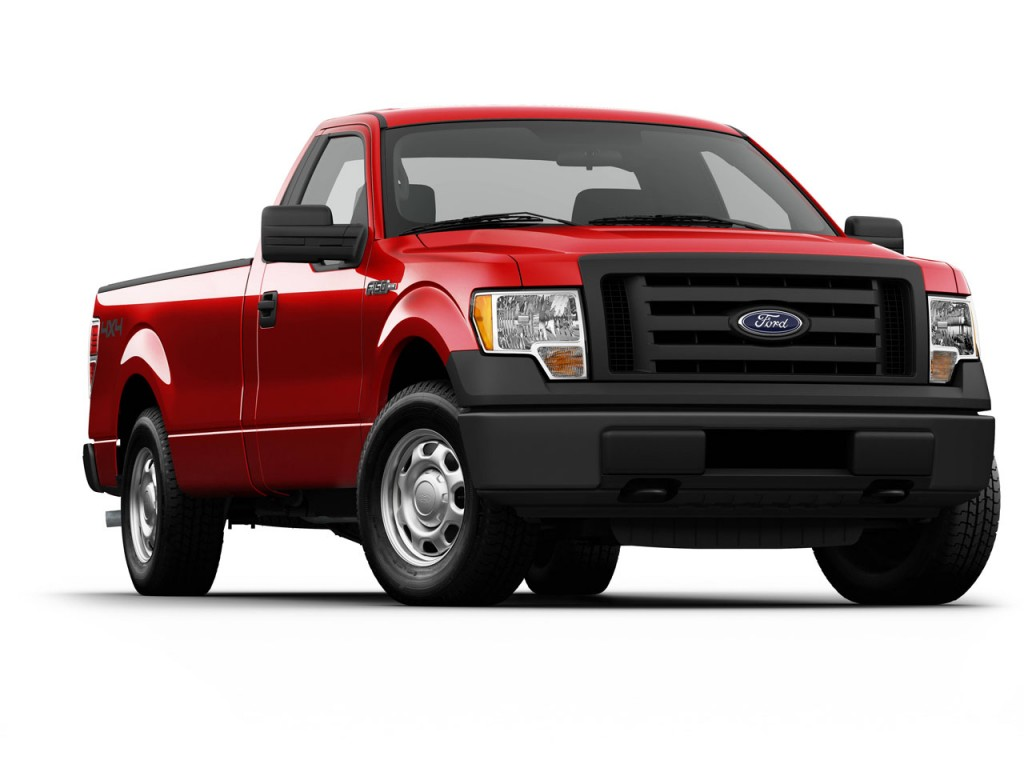 2011 Ford F-150: New V-6 Gets Top Highway Rating Of 23 MPG