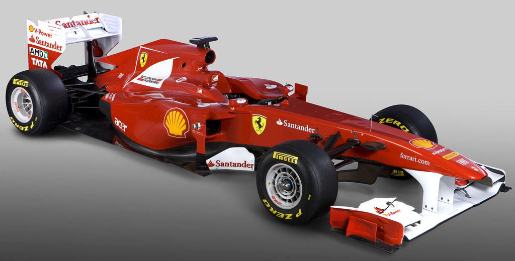 Ferrari Reveals F150 Race Car For 2011 F1 Series