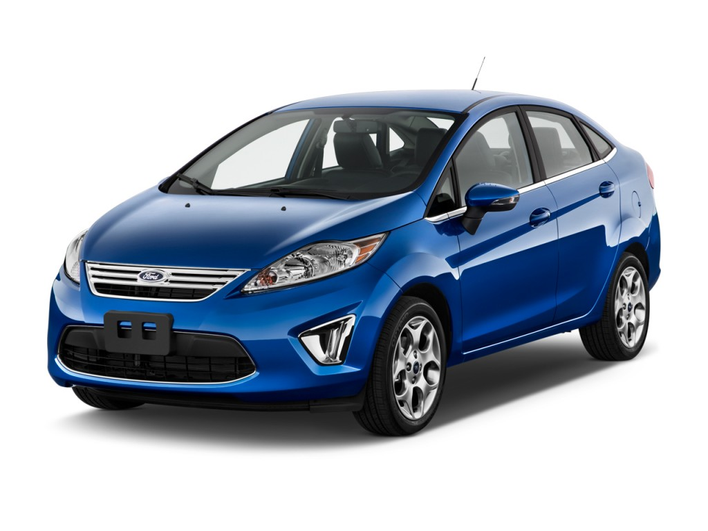 Marvelous 2011 Ford Fiesta 4 Door Sedan SEL Angular Front Exterior View Awesome Design