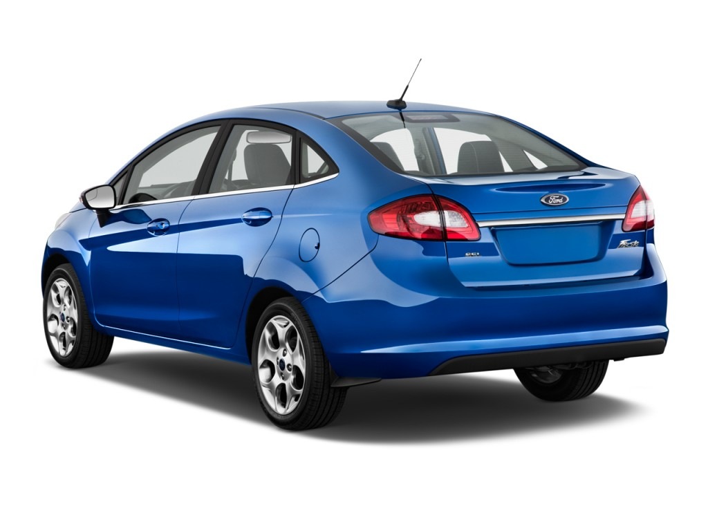 image  ford fiesta  door sedan sel angular rear exterior view size    type gif