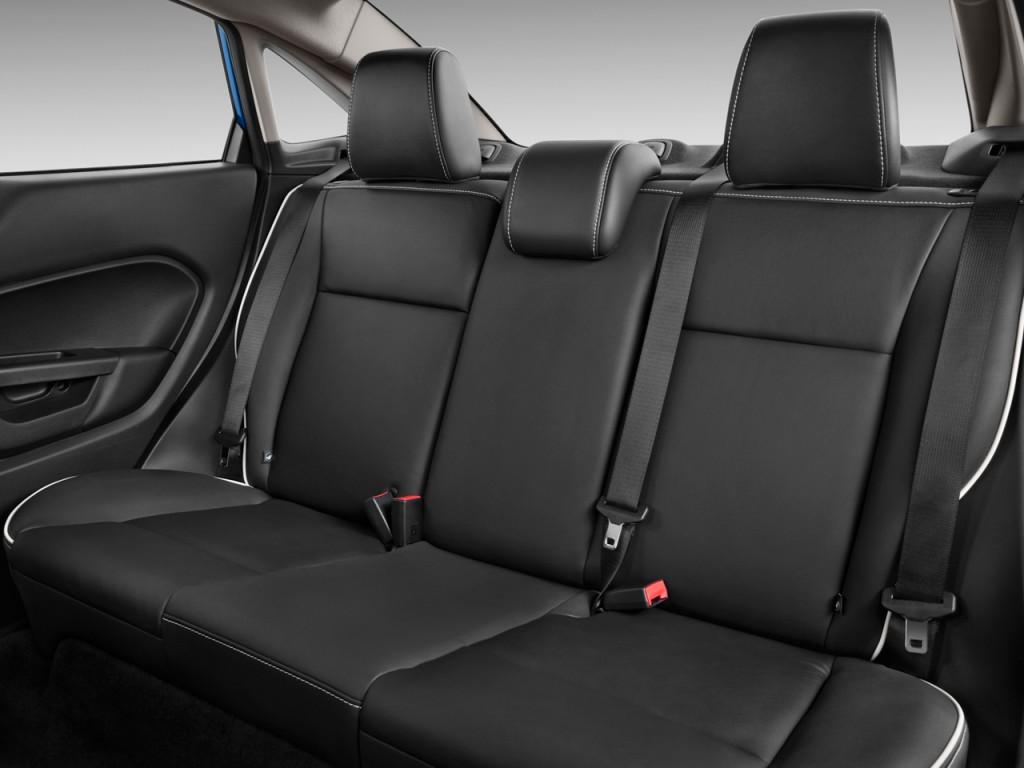 Image 2011 Ford Fiesta 4 Door Sedan Sel Rear Seats Size