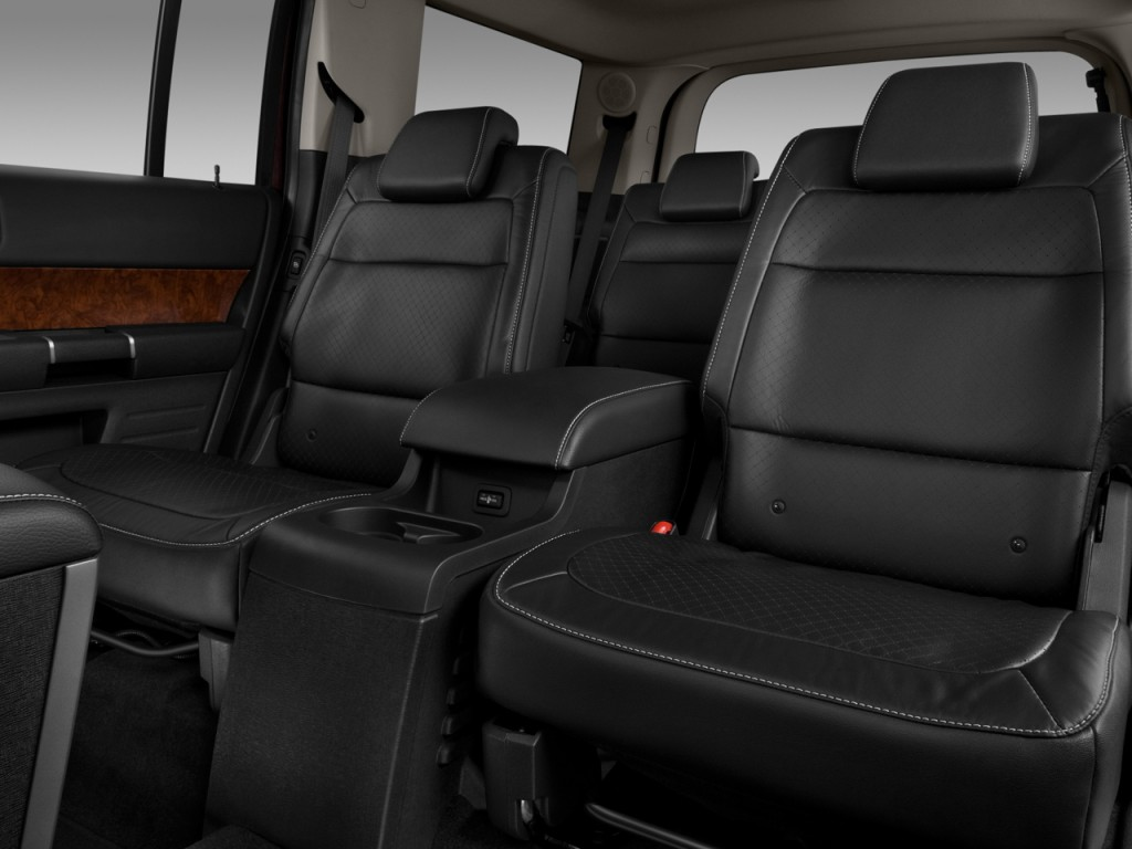 image 2011 ford flex 4 door limited fwd rear seats size. Black Bedroom Furniture Sets. Home Design Ideas