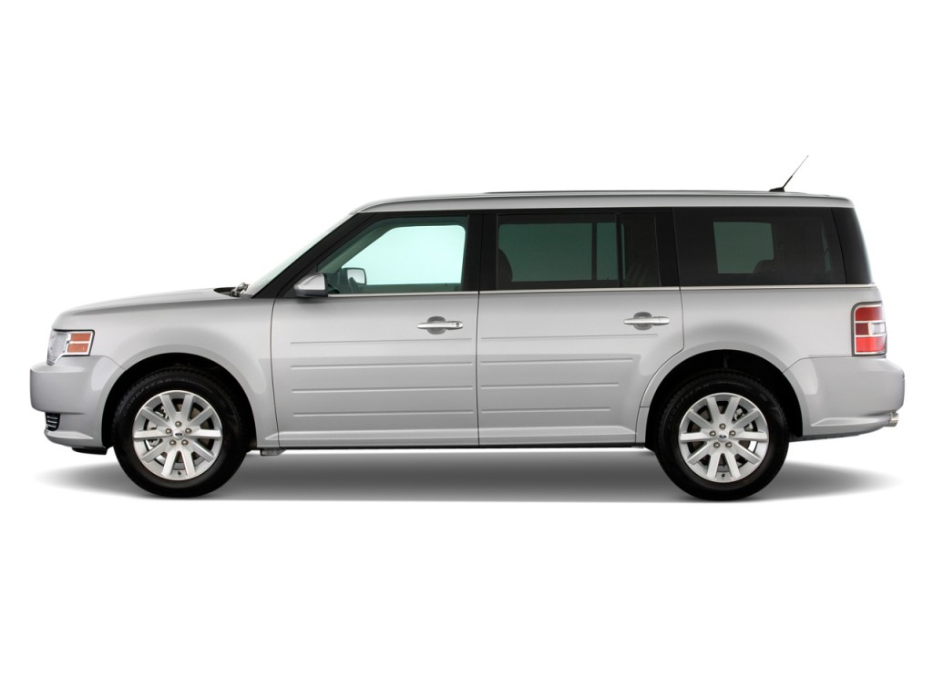 2011 Ford Flex 4-door SEL FWD Side Exterior View