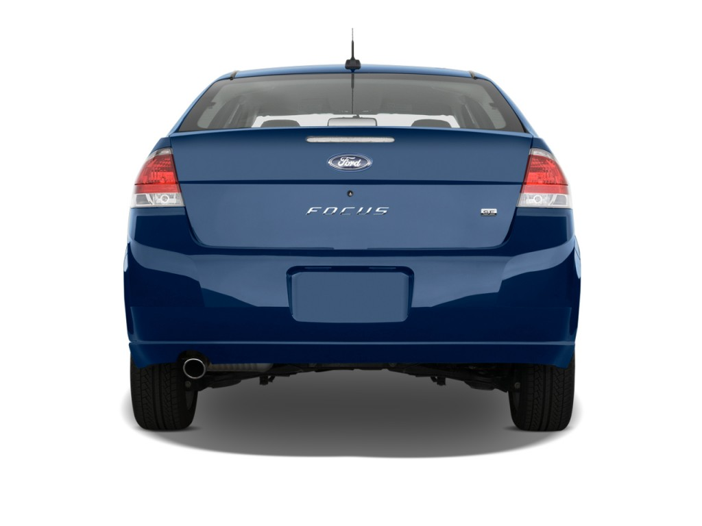image 2011 ford focus 4 door sedan se rear exterior view. Black Bedroom Furniture Sets. Home Design Ideas