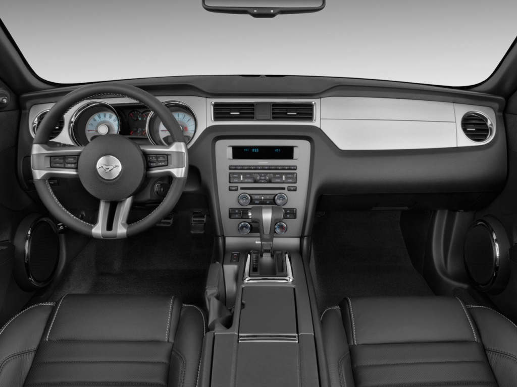 Image 2011 Ford Mustang 2 Door Convertible Premium Dashboard Size 1024 X 768 Type Gif