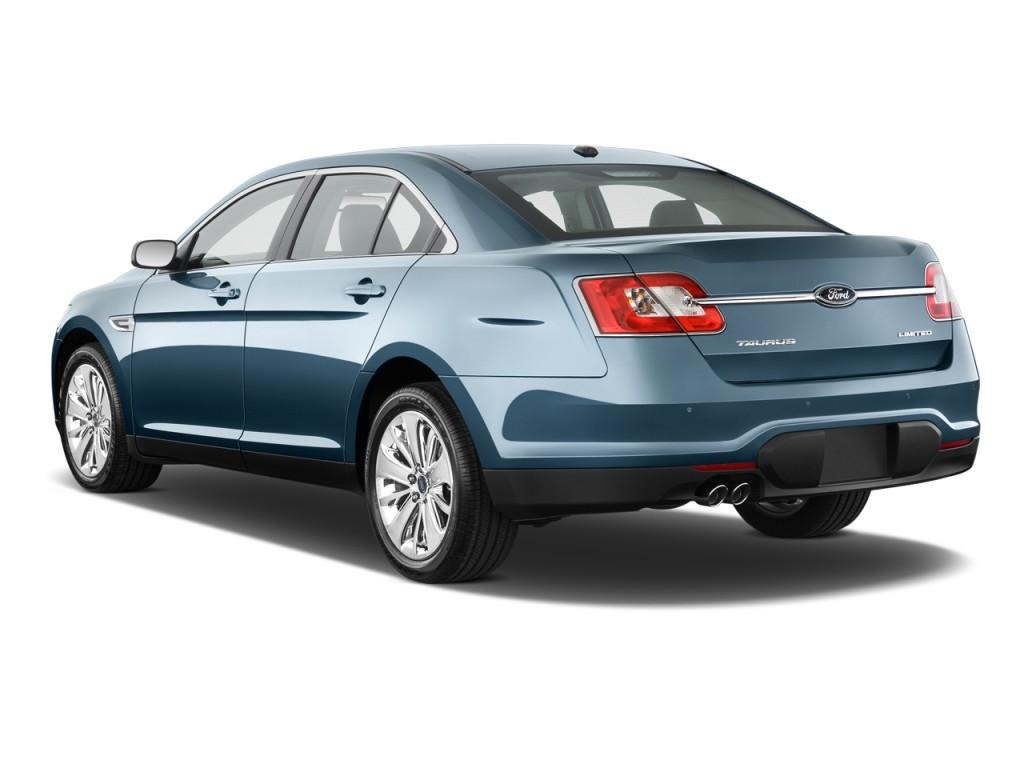 2011 Ford Taurus 4-door Sedan Limited FWD Angular Rear Exterior View