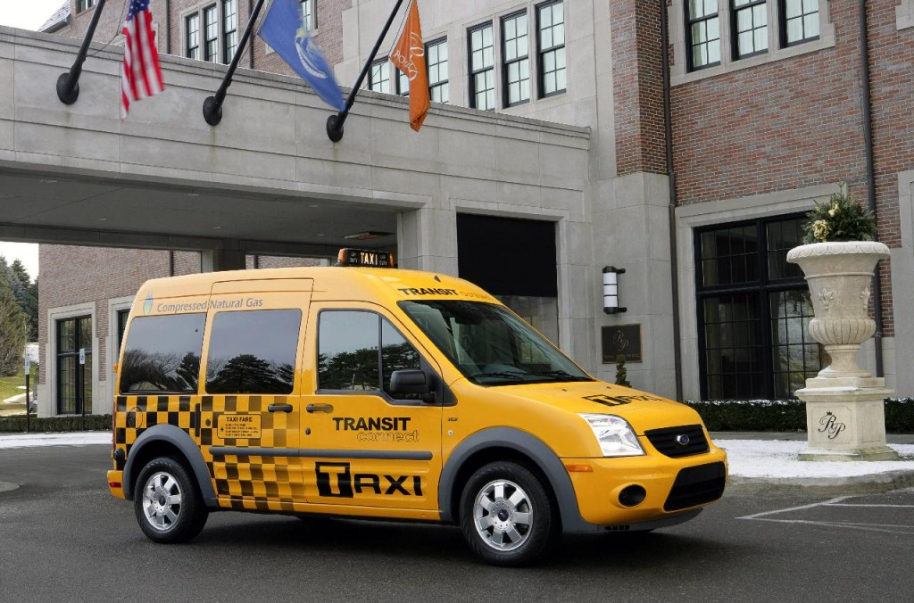2011 Ford Transit Connect Taxi, introduced at 2010 Chicago Auto Show
